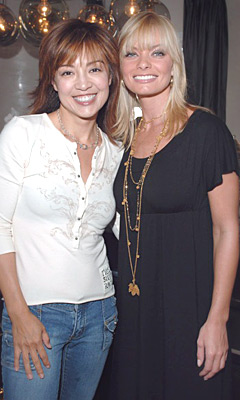 Ming-Na and Jaime Pressly